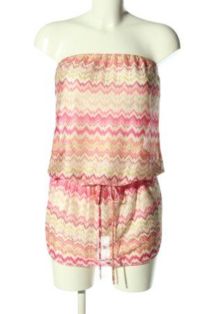 elif schulterfreies Kleid