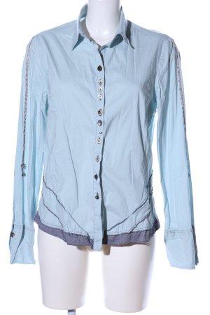 Elisa Cavaletti Hemd-Bluse blau Casual-Look