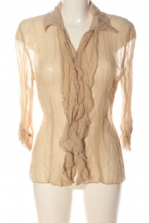 Elisa Cavaletti Long Sleeve Shirt nude casual look