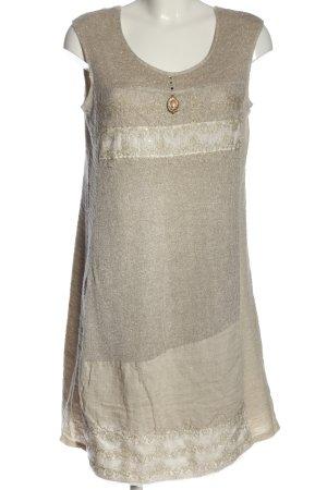 Elisa Cavaletti Mini Dress cream casual look