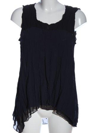 Elisa Cavaletti Schlupf-Bluse blau Casual-Look