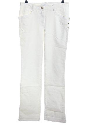 Elisa Cavaletti Straight-Leg Jeans weiß Casual-Look