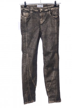 Elisa Cavaletti Stretch Jeans gold-colored casual look