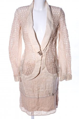 Elisa Cavaletti Strick Twin Set creme Business-Look