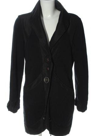 Elisa Cavaletti Between-Seasons-Coat black casual look