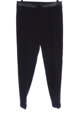 Elisabetta Franchi Spodnie garniturowe czarny W stylu casual