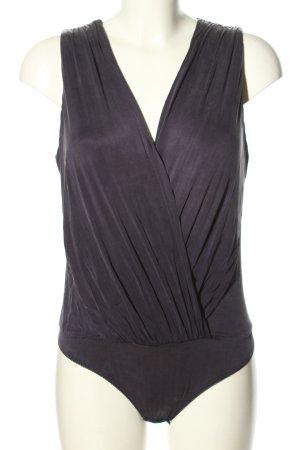 Elisabetta Franchi Bodysuit Blouse light grey business style