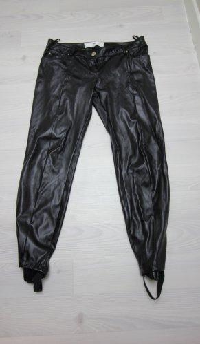 Elisabetta Franchi Vastgebonden broek zwart