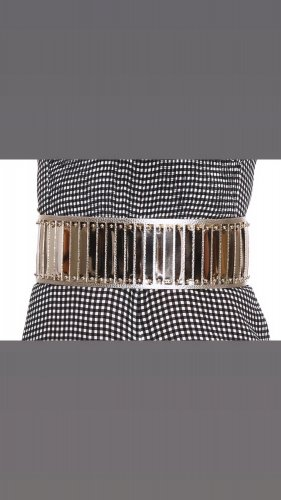 Elisabetta Franchi Waist Belt gold-colored-silver-colored