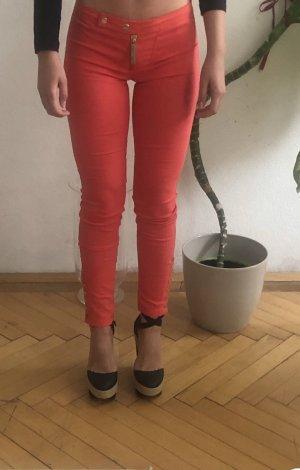 Elisabetta Franchi Pantalon 3/4 saumon