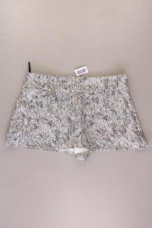 Elisabetta Franchi Hotpants Größe 42 gepunktet neuwertig grau aus Polyester