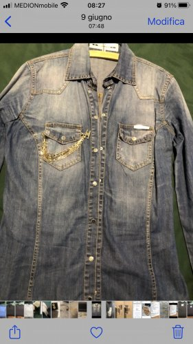 Elisabetta franchi jeans hemd