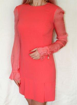 Elisabetta Franchi Kleid Coral Gr. 36 Seide NP 425€