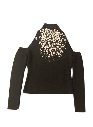 Elisabetta Franchi Kimono Sweater black