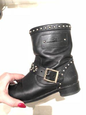 Elisabetta Franchi Leather Boots