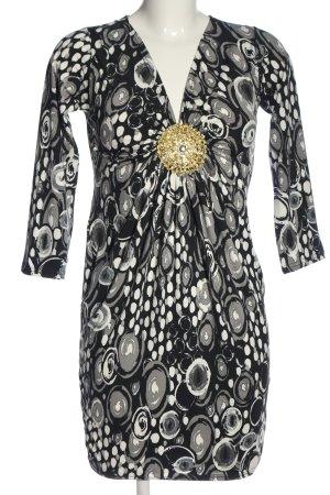 Elisabetta Franchi Minikleid abstraktes Muster Elegant