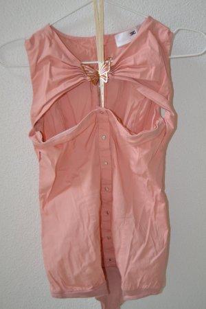 Elisabetta Franchi pinkes Body-Blusenshirt Gr. 36 ( IT42 )