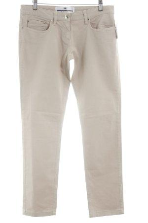 Elisabetta Franchi Straight-Leg Jeans beige Casual-Look
