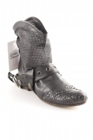 Elisanero Ankle Boots schwarz Country-Look