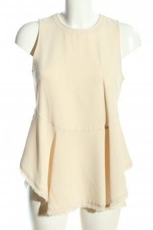 Elizabeth and James ärmellose Bluse creme Casual-Look