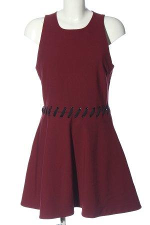 Elizabeth and James Mini Abito rosso-nero stile casual
