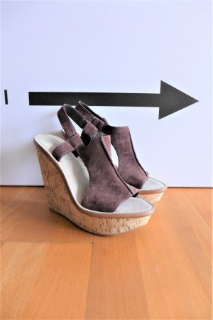 Elizabeth and James Schuhe Wedges Sandale Kork braun Gr. 7B 37,5 neu