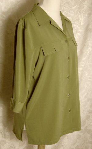 ELIZABETH Bluse Größe L Grün