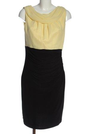 Elizabeth COLLECTION Abendkleid schwarz-blassgelb Elegant