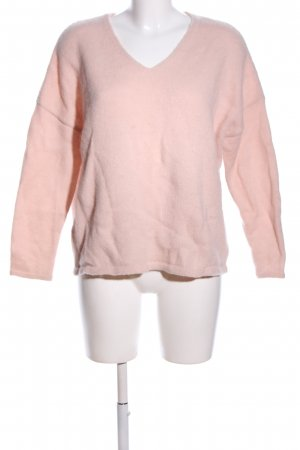 Wollpullover nude Casual-Look