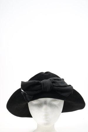 Elke Martensen Chapeau cloche noir élégant
