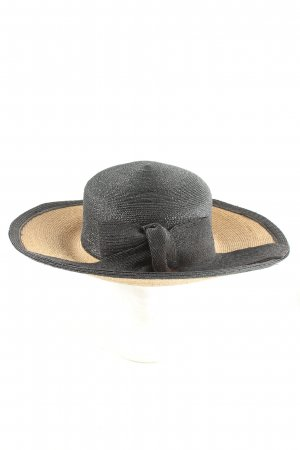 Elke Martensen Cappello parasole nero-color carne stile casual
