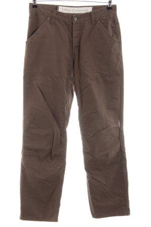 Elkline High Waist Jeans braun Casual-Look