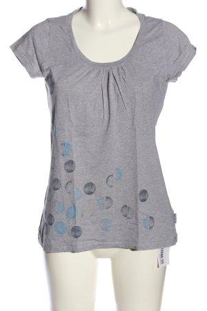 Elkline T-Shirt meliert Casual-Look