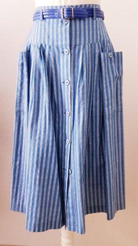 Elkont High Waist Skirt light grey-azure