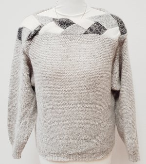 Elkont Wool Sweater silver-colored-light grey