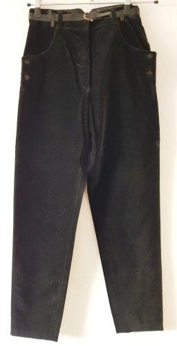 Elkont Pantalon en velours côtelé noir