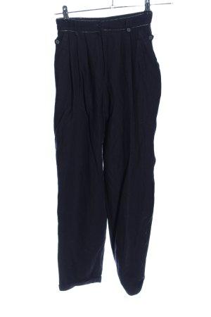Elkont Woolen Trousers black casual look