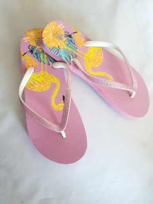 Ella Cruz Flip-Flop Sandals light pink-pink