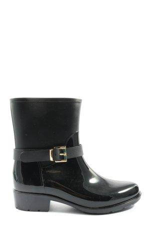 Ella Cruz Gumowe buty czarny W stylu casual