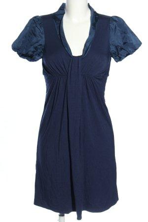Ella Moss Kurzarmkleid blau Casual-Look