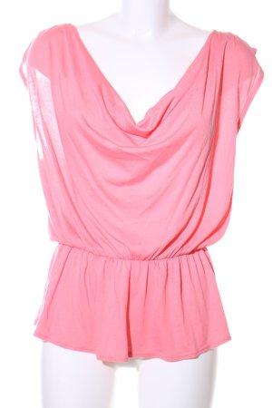 Ella Moss Peplum Top pink casual look