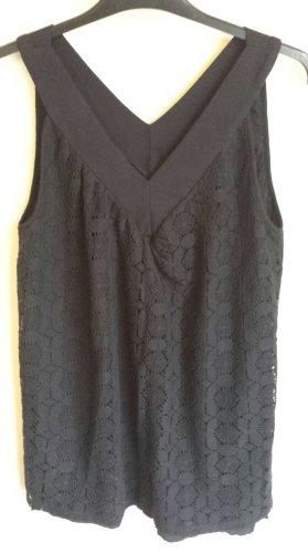 Ella Moss Off-The-Shoulder Top black cotton