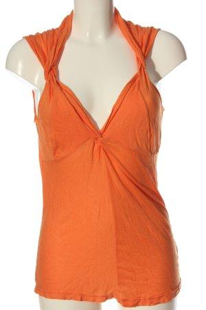 Ella Moss Tank Top light orange casual look