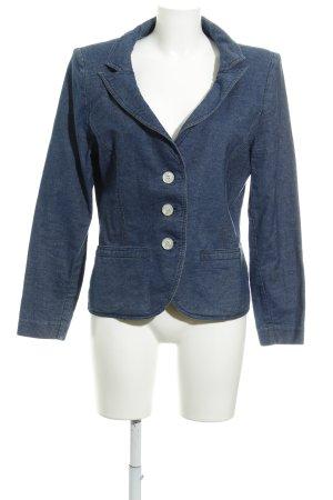 Ella Singh Jeansjacke blau meliert Jeans-Optik