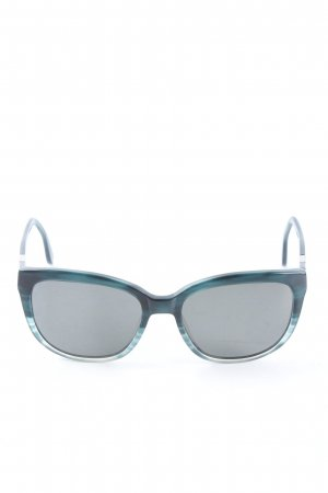 Elle Square Glasses blue casual look