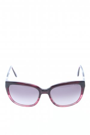 Elle Angular Shaped Sunglasses red casual look