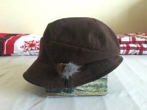 Elle Bucket Hat brown polyester