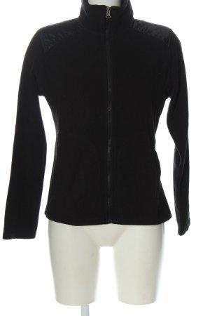 elle nor Fleece Jackets black casual look