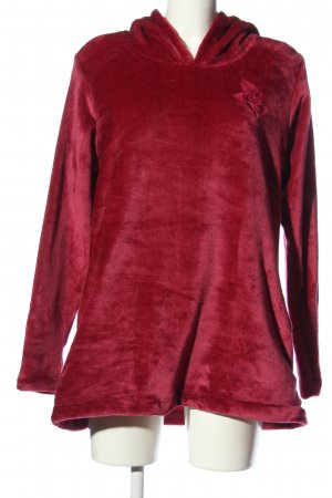 elle nor Capuchon sweater rood casual uitstraling