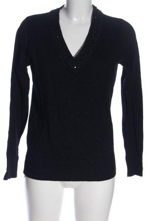 elle nor V-Ausschnitt-Pullover
